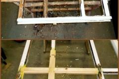 Reparatur-Hausflurfenster